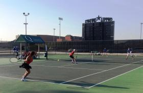 8-12-2016 Plano West - Mixed Doubles