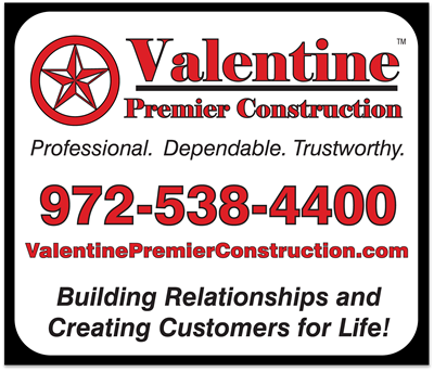 Valentine Premier Construction